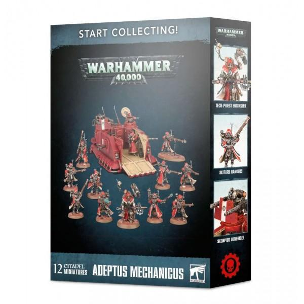 warhammer 40000 start collecting adeptus mechanicus