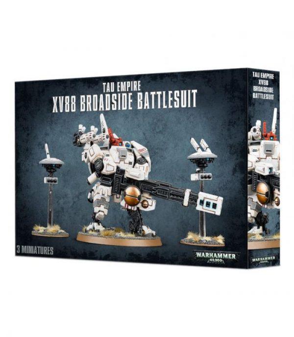 warhammer 40000 tau empire xv88 broadside battlesuit