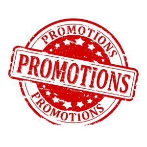 Saldos y promociones especiales