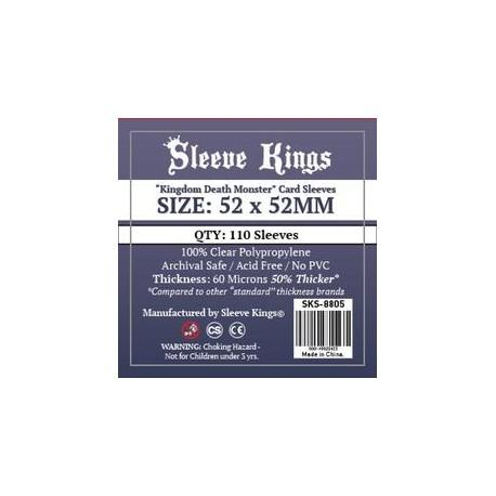 comprar sleeve kings kingdom death monster card sleves 52 x 52mm barato