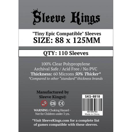 comprar sleeve kings tiny epic compatible sleeves 88x125mm barato