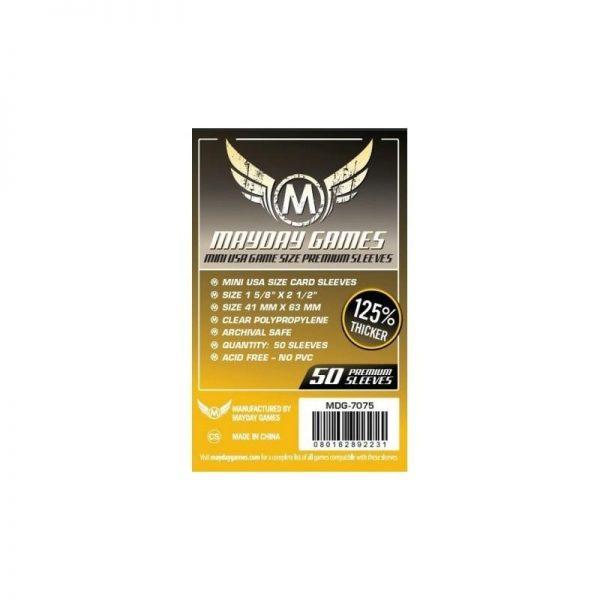 fundas premium mini usa pack of 100 45 mm x 68 mm