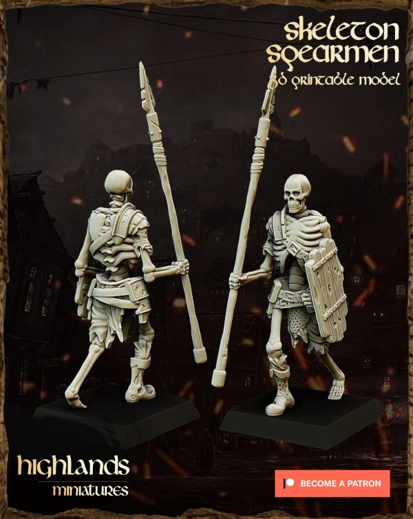 SKELETON SPEARMEN 1