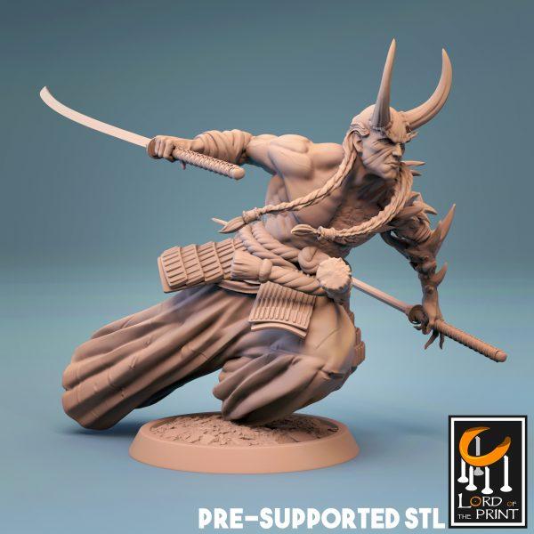 Samourai demon 2 Render TPL