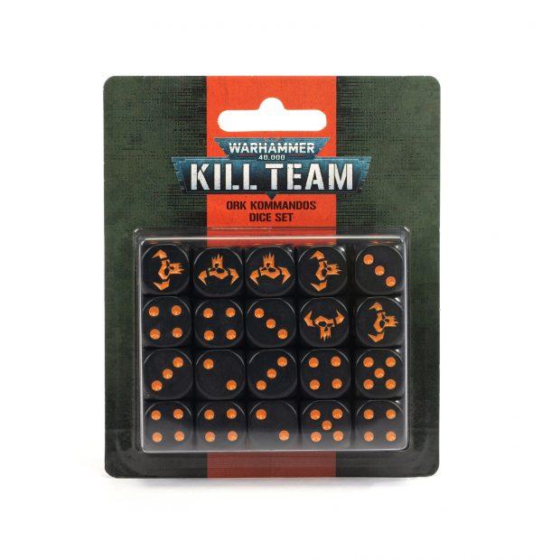 https trade.games workshop.com assets 2021 08 TR 102 82 99220103006 Kill Team Ork Kommandos Dice Set