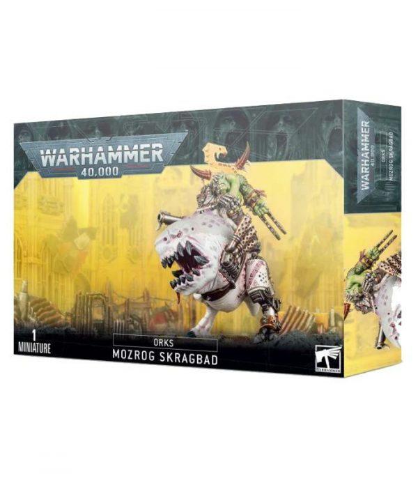 warhammer 40000 orks mozrog skragbad