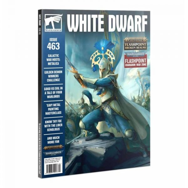 white dwarf 463 ingles